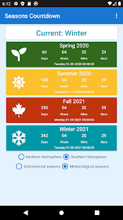 Seasons Countdown