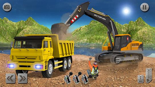 Sand Excavator Simulator 2021: Truck Driving Games 7