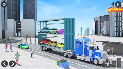 US Army Transporter Plane - Car Transporter Games screenshots 6