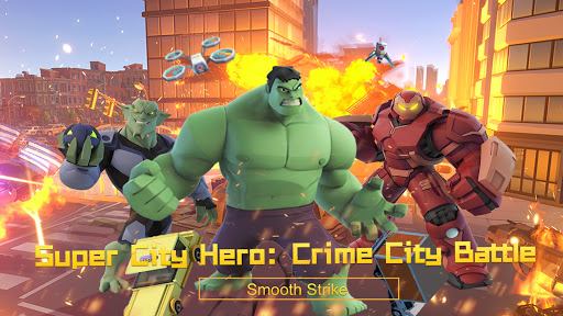 Super City Hero:Crime City Battle 22 updownapk 1