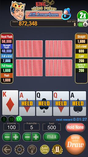 King Video Poker Multi Hand 02.00.19 screenshots 2