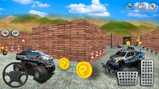 Monster Truck Maze Driving 2020: 3D RC Truck Games  screenshots 7