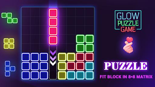 Glow Block Puzzle apktram screenshots 13