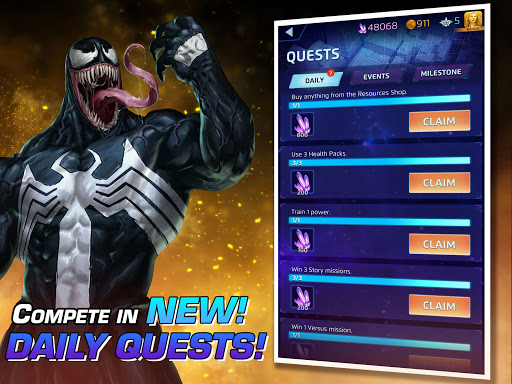 MARVEL Puzzle Quest: Join the Super Hero Battle! Apkfinish screenshots 6