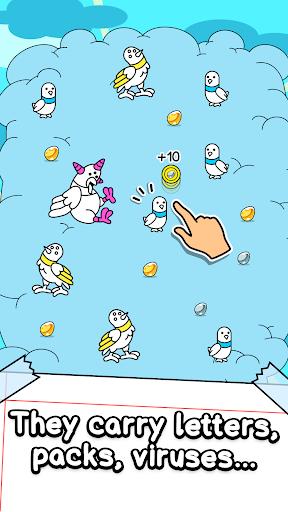 Pigeon Evolution - Merge & Create Mutant Birds  screenshots 2