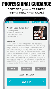 KuaiFit - Audio Personal Training & Workout Plans Screenshot