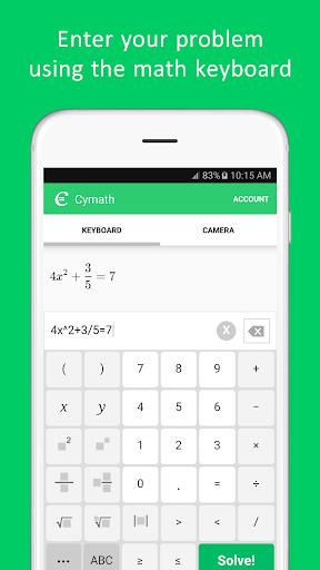 Cymath - Math Problem Solver  Screenshots 3