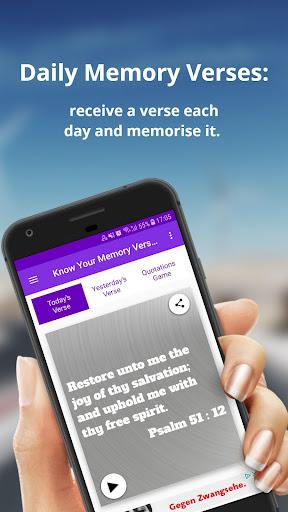 Bible Verses Memorisation Game - KJV - Offline apkmr screenshots 1