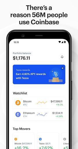Coinbase – Buy & Trade Bitcoin, Ethereum & more  screenshots 2