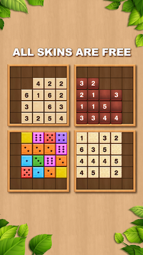 TENX - Wooden Number Puzzle Game  screenshots 3