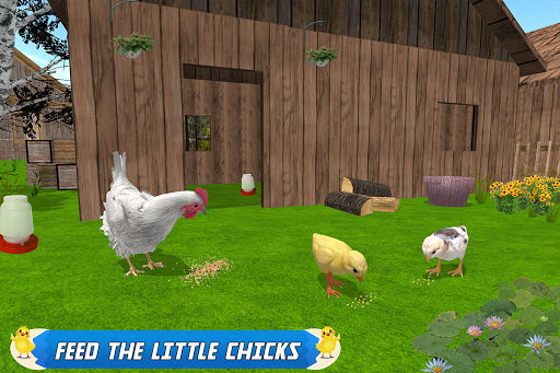 New Hen Family Simulator: Chicken Farming Games  screenshots 8