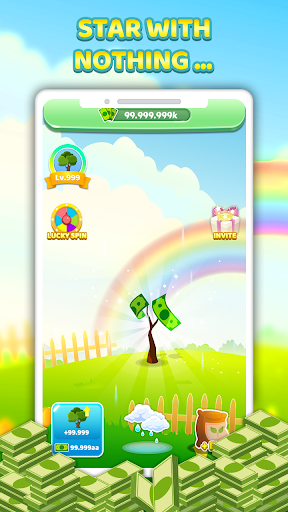 Tree For Money - Tap to Go and Grow 1.1.2 screenshots 1