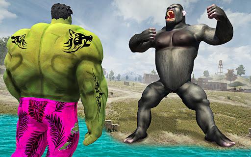 Crazy Gorilla GT Rampage-Superhero Mega Ramp Stunt apkdebit screenshots 8