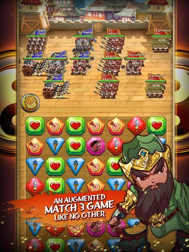 Match 3 Kingdoms: Epic Puzzle War Strategy Game apkslow screenshots 13