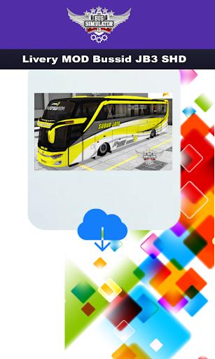 Livery MOD Bussid JB3 SHD  Screenshots 5