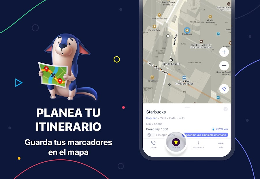 Captura 5 de MAPS.ME – Mapas sin conexión, navegación GPS para android
