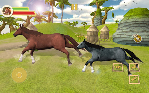 Ultimate Horse Simulator - Wild Horse Riding Game 0.2 screenshots 1