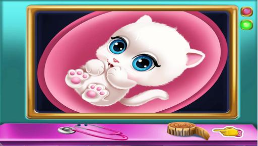 kittie Pregnant check up - ema pregnancy cat games 1.0.0 screenshots 4