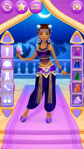 Arabian Princess Dress Up apktram screenshots 6