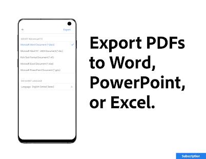 Adobe Acrobat Reader: PDF Viewer, Editor & Creator 21.7.0.18750 Screenshots 7