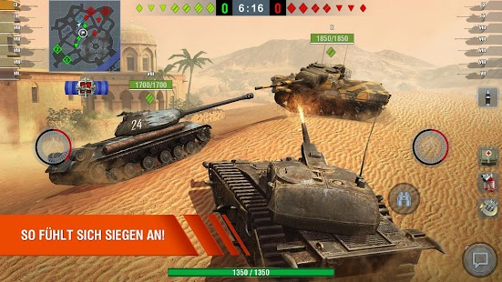 World of Tanks Blitz 3D online  PVP  Panzer game Screenshot