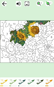 Color the picture by numbers and connect the dots 1.8