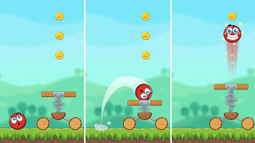 Red Bounce Ball Heroes  screenshots 14