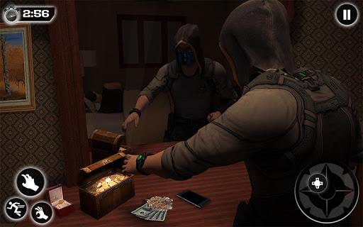Jewel Thief Grand Crime City Bank Robbery Games  screenshots 12