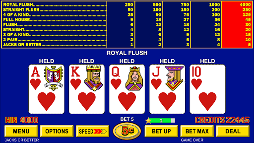 Video Poker - Classic Casino Games Free Offline  screenshots 9
