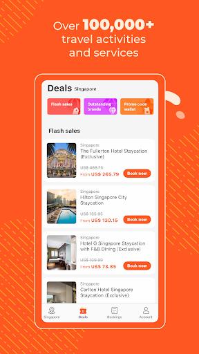 Klook: Travel & Leisure Deals android2mod screenshots 2
