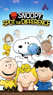 Snoopy Spot the Difference Screenshot