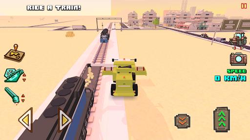 Blocky Farm Racing & Simulator - driving game 1.41 screenshots 7