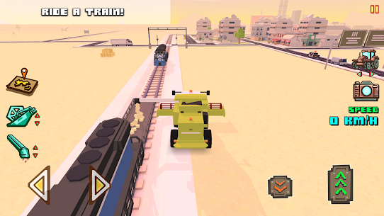 Blocky Farm Racing & Simulator Mod Apk 1.43 7