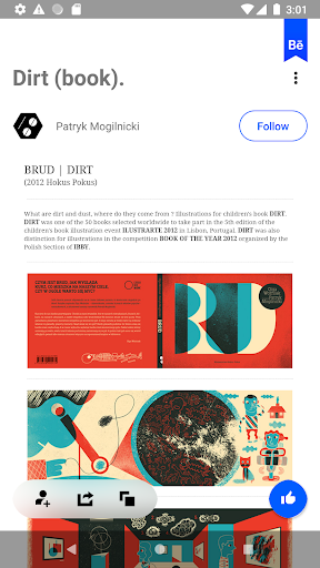 Behance: Photography, Graphic Design, Illustration 6.5.4 Screenshots 12
