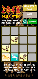 Merge Block Puzzle: 2048 Greek Myths For Android 3