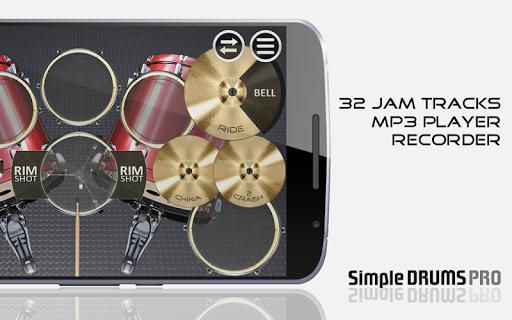 Simple Drums Pro - The Complete Drum Set 1.3.2 Screenshots 2