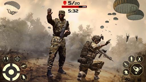 FPS Free Fire Game: New Gun Shooting Games Offline modavailable screenshots 12