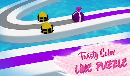 Line Color Game: 3D Adventure  screenshots 9