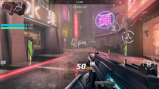 Infinity Ops Mod Apk: Online FPS Cyberpunk Shooter 1