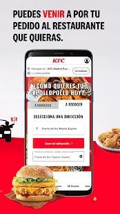 KFC España Screenshot