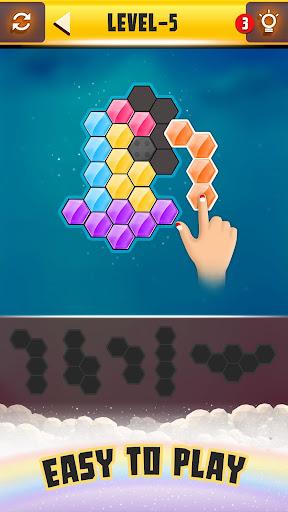 Hexa Puzzle Games PRO: Jigsaw Block Puzzle IQ Test  screenshots 1