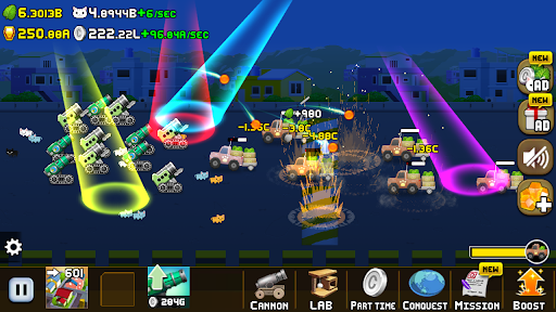 Idle Cat Cannon modavailable screenshots 6