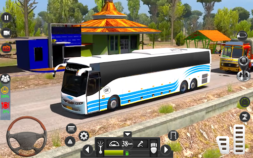 Public Coach Driving Simulator: Bus Games 3D  screenshots 5