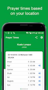 Waktu Solat Kiblat Azan For Pc   How To Install  (Free Download Windows & Mac) 1