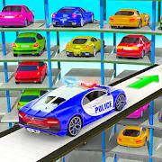 Police Multi Level Car Parking Games: Cop Car Game