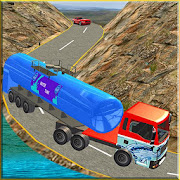 Water Tanker Offroad Transport Truck Driving Game