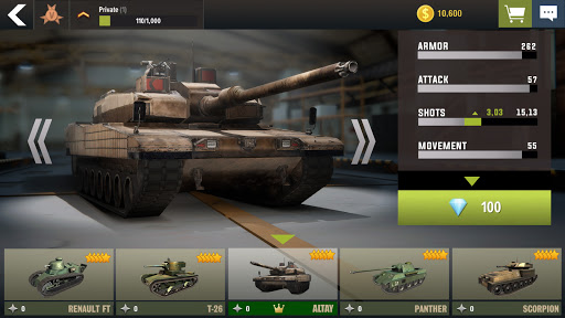War Machines: Tank Battle - Army & Military Games  screenshots 6