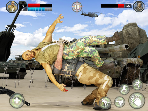 US Army Fighting Games: Kung Fu Karate Battlefield 1.5.3 screenshots 11
