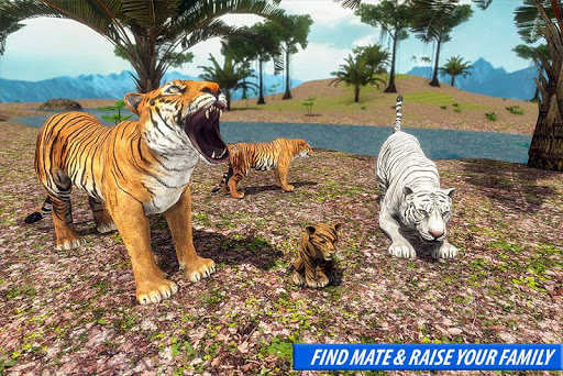 Tiger Family Simulator: Angry Tiger Games apkdebit screenshots 4