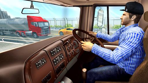 In Truck Highway Rush Racing Free Offline Games apkpoly screenshots 2
